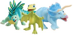 Dinosaur Train's Trudy, Morris and Tiny