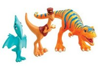 Dinosaur Train - Dolores, Mr. Conductor, and Shiny