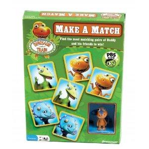 Dinosaur Train Games - Make a Match