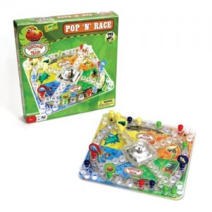 Dinosaur Train Games - Pop-N-Race