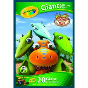 Dinosaur Train Book - Coloring